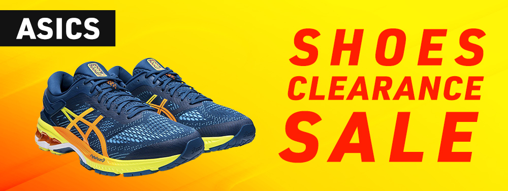 ASICS SHOES CLEARANCE SALE