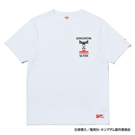 【先行予約受付中!6/18-7/10】 キングダム BATTLE ロゴ 半袖Tシャツ SL-KINGDOM113-wht