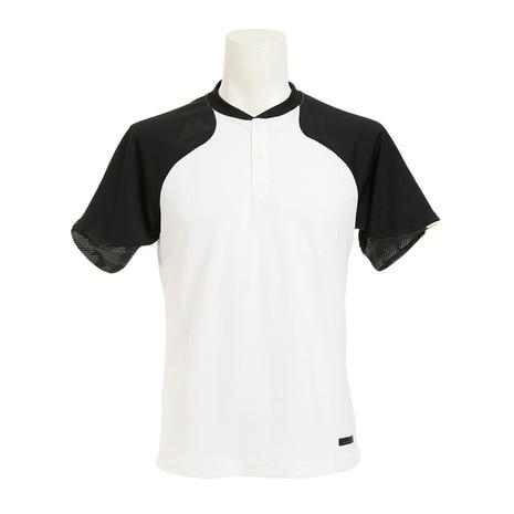 Authentic Tech 2 ボタン トレーニング 半袖Tシャツ XM01-WHT1-MAJ-0006