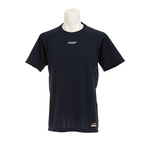 瞬速乾 BBTシャツ 723G7TF1507 NVY