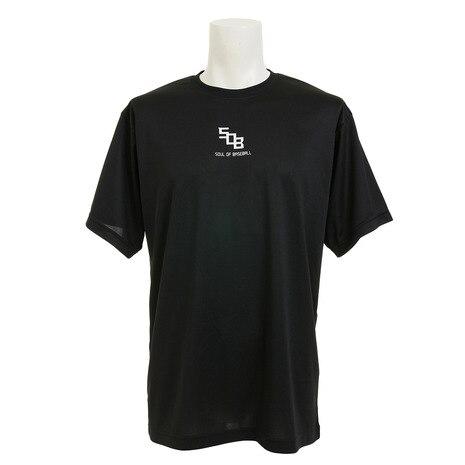ドライプラス メッセージ Tシャツ 723G7ES1538 BLK