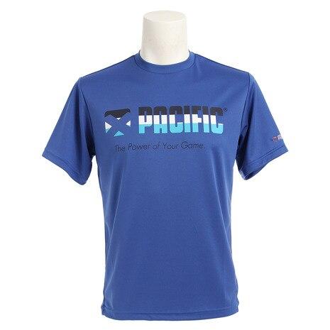 ドライプラス グラフィック ロゴTシャツ PT16SM703 BLU