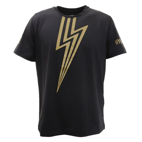 FLASH TECH Tシャツ T00122 BLK/GLD