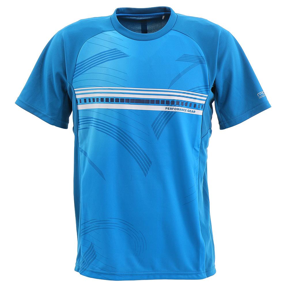 Tシャツ ドライプラス プロ ブルー