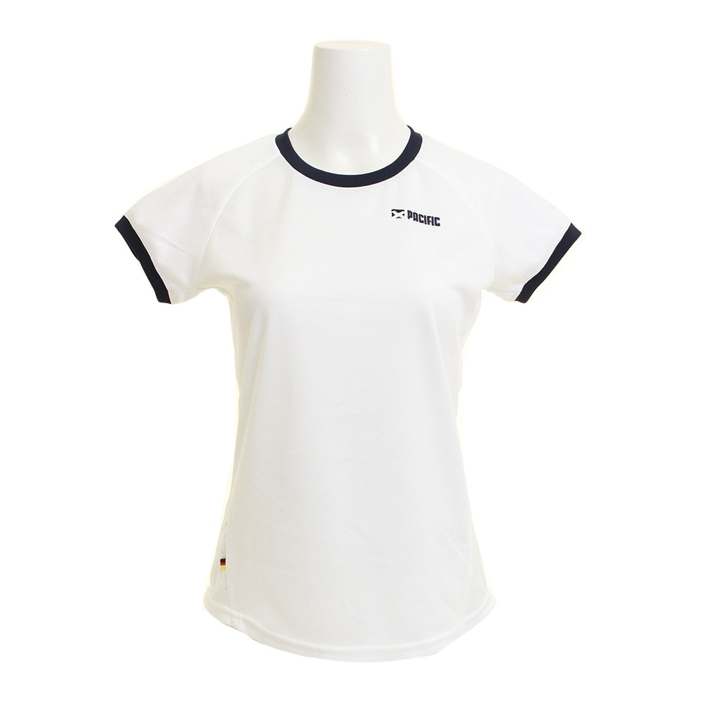 スーパースポーツゼビオオンラインストアで買える「【ポイント15倍!】【多少の傷汚れありの為大奉仕】ドライプラス ゲームシャツ PT18SW411 WHT」の画像です。価格は1,598円になります。
