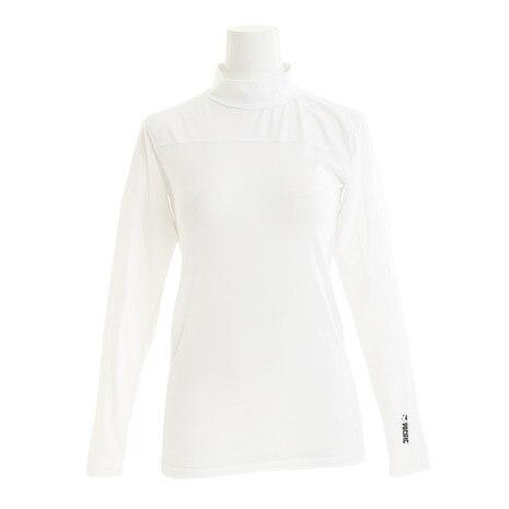 ラジクール ハイネックシャツ PT17SW031 WHT
