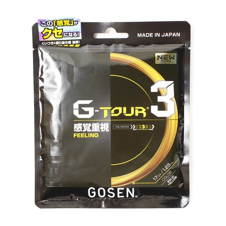 G-TOUR3 17 TSGT31SY テニス ガット