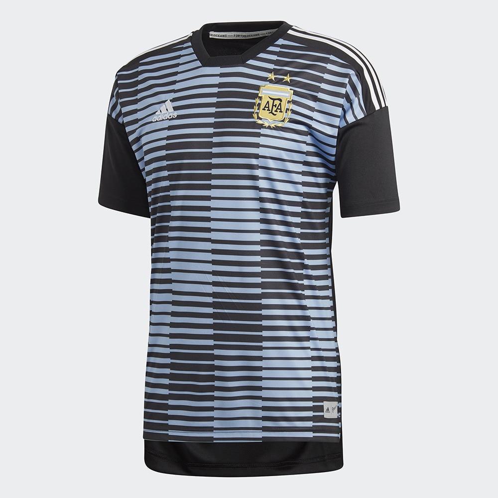 【セール実施中】【送料無料】アルゼンチン代表 ホームプレマッチジャージー EDO01-CF1546