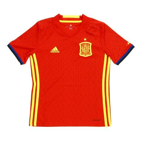 2016 スペイン代表 ホーム 半袖レプリカユニフォーム AA0850-AAO62-RED