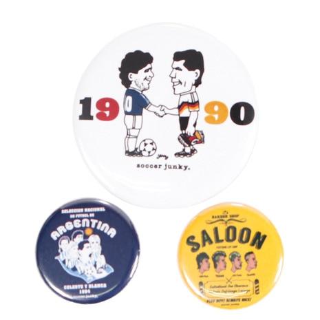 サッカージャンキー (soccer junky) 缶バッジ 3個セット ST18022 1