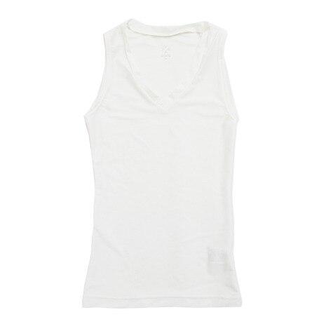 2WAY Vネックインナーシャツ 751G2ES245 WHT