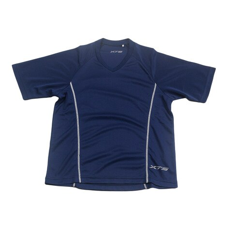 バスケット シューティングシャツ 751G4KS005JT NVY/SLV