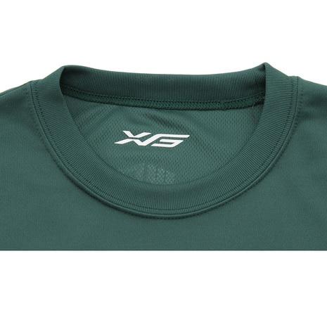 ドライプラス 半袖Tシャツ 751G7ES2021 DGRN