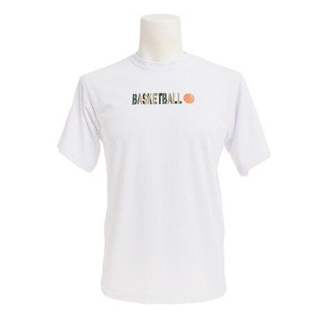 ドライプラス 半袖 プリントTシャツ 751G7CD2044 WHT