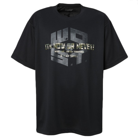 DP It s now or never! Tシャツ 751G8ES3501 BLK