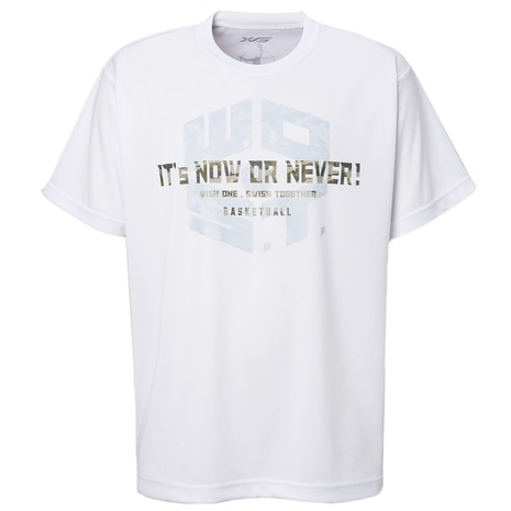 DP It s now or never! Tシャツ 751G8ES3501 WHT