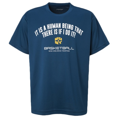 DP It is a human bei Tシャツ 751G8ES3508 BLU
