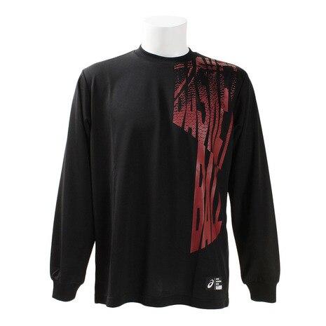 プリント 長袖Tシャツ XB6623.90C