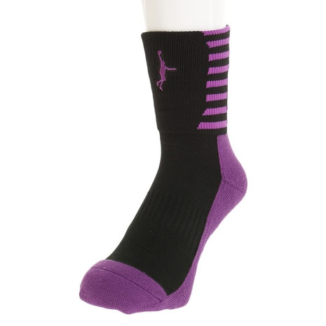I SOCKS ITP17122BLK/PPL
