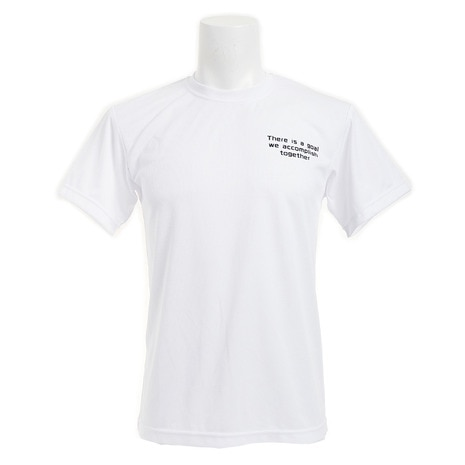 ドライプラス 文字入りTシャツ 771G6ES3447WHT