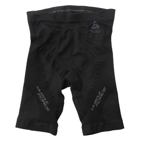 SUW Bottom Short MUSCLE FORCE 321962 black-platinum grey