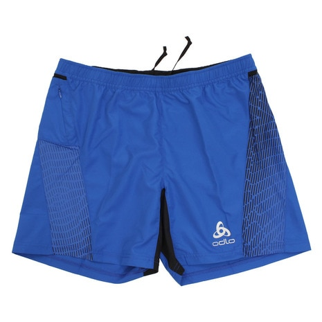 Shorts with inner brief OMNIUS 321882 energy blue-black