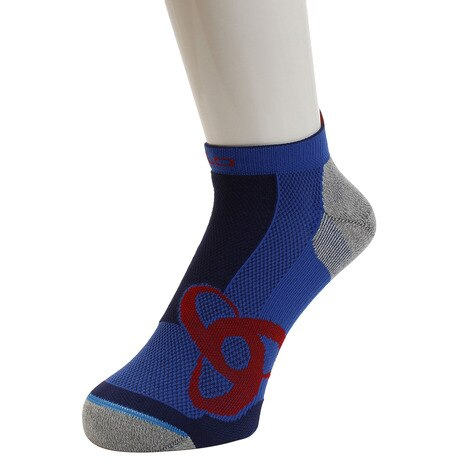 RUNNING LOW CUT Socks Short 777080 energy blue-fiery red
