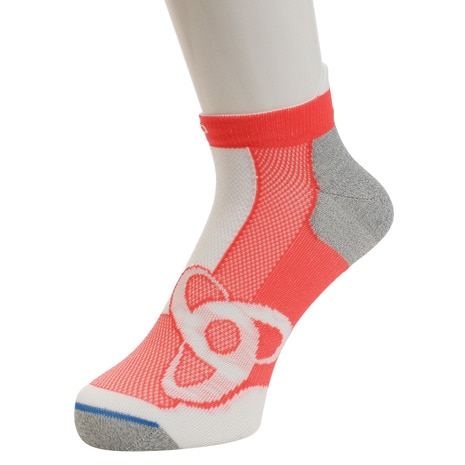 RUNNING LOW CUT Socks Short 777080 fiery coral