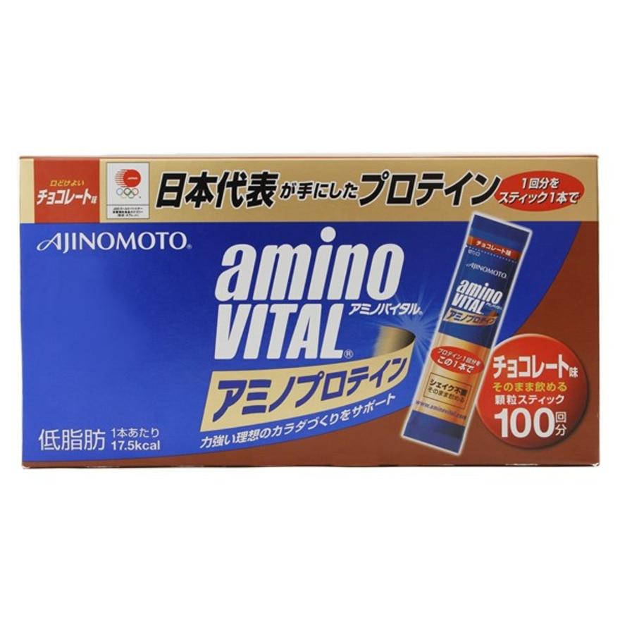 【セール実施中】【送料無料】アミノプロテイン チョコレート味(100本入り)