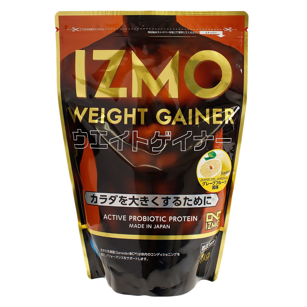 IZMO ウエイトゲイナープロテイン グレープフルーツ風味 1kg オンライン価格