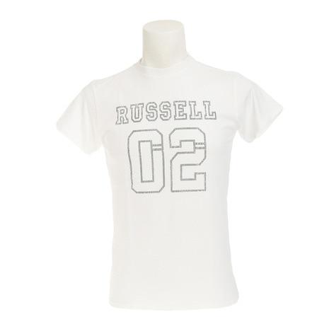 RUSSELL 02 半袖Tシャツ RBM17S0003 WHT