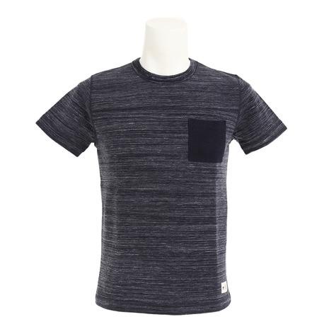 ポケット付 Tシャツ 863EK7NA4787NVY