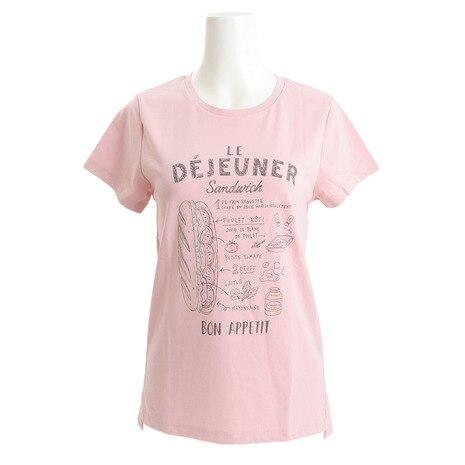 ゼビオ限定 グラフィックTシャツ HU17FCD864844PNK