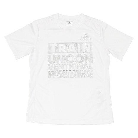 Boys TRN タイポグラフィック Tシャツ DJH70-BQ6364