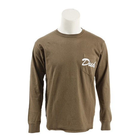 DUDE 長袖Tシャツ PR-7AW-CS07-WHEAT