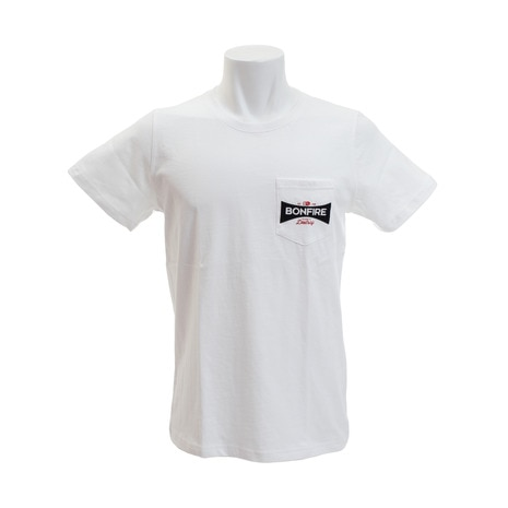 POCKET EMBREM 10BNF8SCD2012 WHT 半袖Tシャツ