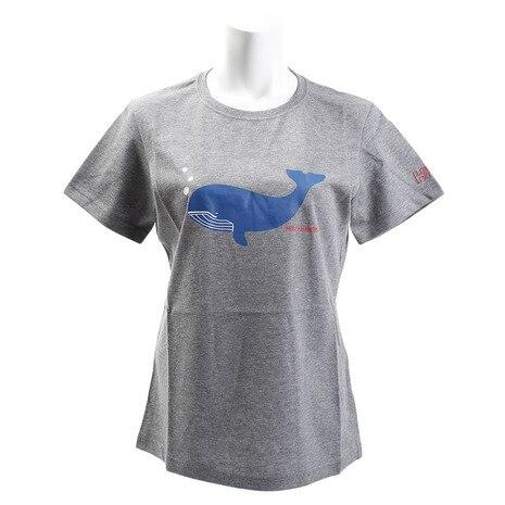 WHALE 半袖Tシャツ HWV61640 Z #