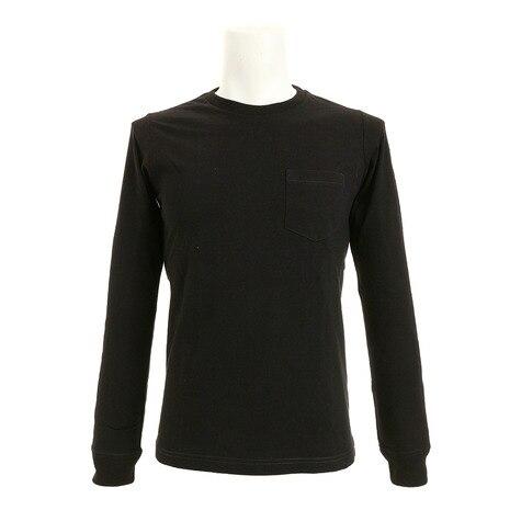 AリサイクルコットンポケットTシャツ 871C5MR6327 BLK
