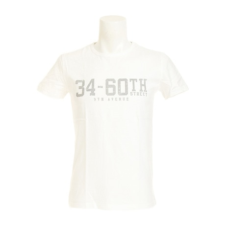 プリント Tシャツ 871C7CD5307 WHT