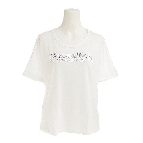 プリント Tシャツ 872C7CD5321 WHT