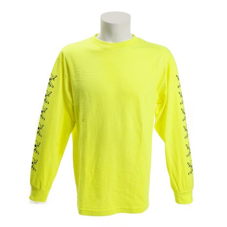 PIRATE SLEEVE 長袖Tシャツ 4S16F202 SAFETY YELLOW