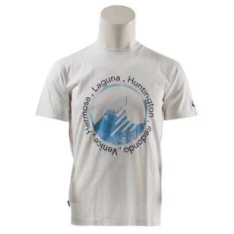 プリント 半袖 Tシャツ SAS1654405-1-WHT