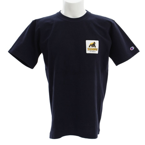 CHAMPION WALKING APE 半袖Tシャツ 01172104-NAVY