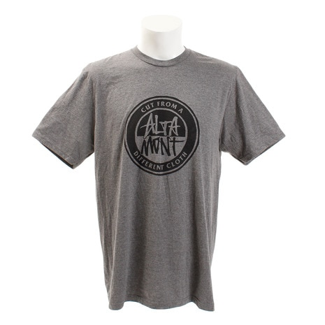 CONTRAST STACKED Tシャツ AT17M2390 GREY HEATHER