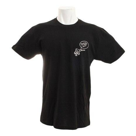 <ゼビオ> GONZ Tシャツ 4SF012 BLACK