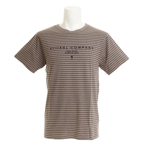 【多少の傷汚れありの為大奉仕】デザートストライプ 半袖Tシャツ