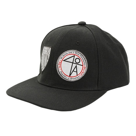 Patches Snap Back ハット DBHF7-02 BLK
