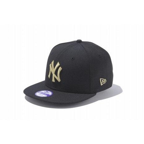 Kid's 9FIFTY ニューヨーク・ヤンキース ブラック×ゴールド 11308488