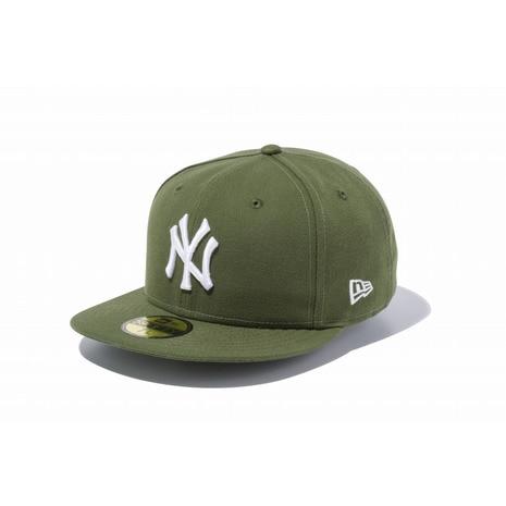 59FIFTY MLB ニューヨーク・ヤンキース ライフルグリーン×ホワイト 11308547
