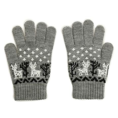 ニット手袋 GRY 901Z5CM9315 GRY